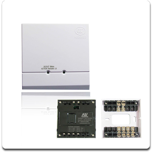 bus type addressable fire alarm systems input/output module