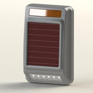 Solar-power outdoor Siren Strobe Wireless Alarm