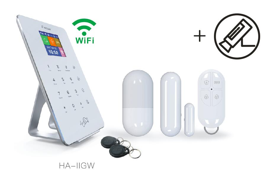 Wifi 2G 4G Home Intruder Security System App alarm