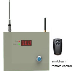 2G 4G GPRS or TCP/IP alarm control panel with home security app