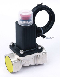 Solenoid valve for gas control 1/2""