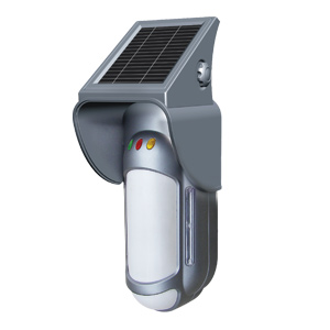 Solar powered anti-masking, anti-interference Detector