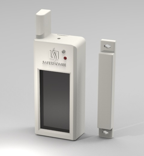 Wireless Magnetic Contact Solar-powered door switch