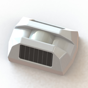 Solar-Powered Wireless Curtain PIR Detector HB-T201