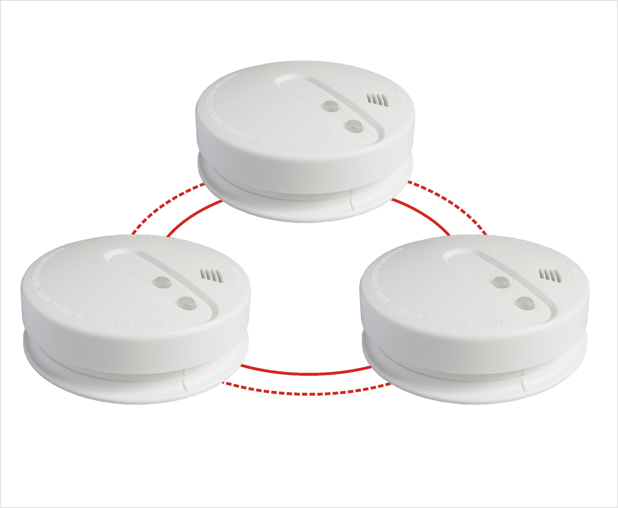 Interconnection Wireless Smoke & Heat Alarm